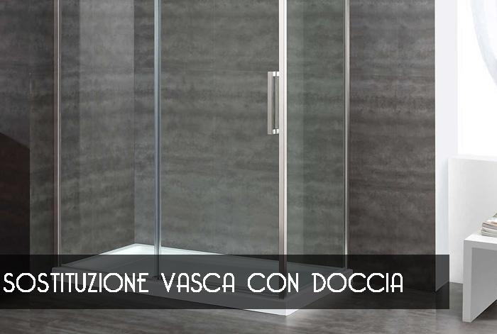 Sostituzione vasca con doccia alessandria trasformare vasca in