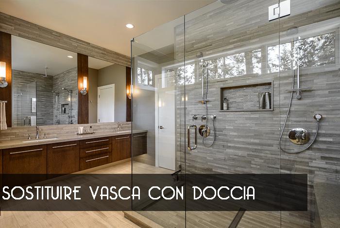 Vasca In Doccia Roma.Sostituire Vasca Con Doccia Milano Trasformare Vasca In Doccia