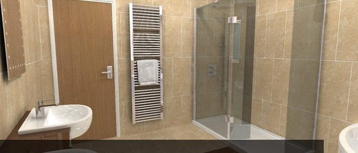 Vasca in doccia Asti